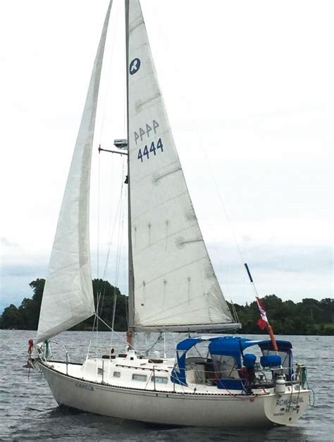 Boat Transport Kingston Ontario by 1975 Ontario 32 Sloop Sail Boat For Sale Www Yachtworld