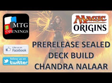 magic origins sealed deck building chandra nalaar