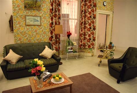 Sixties Living Room : Ba Set Design For Screen Graduates Design 1960s West
