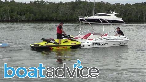 Jet Ski Boat Youtube by Sealver Jet Ski Boat Youtube