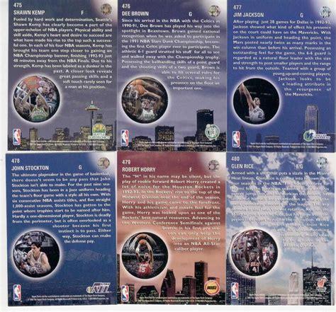 1993 94 deck skylights michael complete set