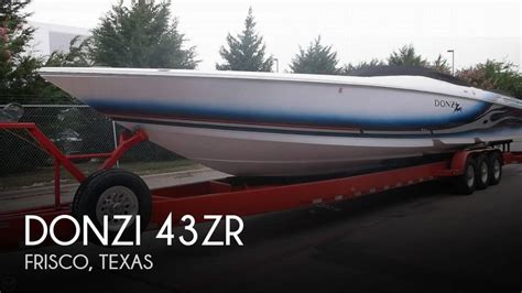 Performance Boats For Sale In Texas by Donzi 43zr For Sale In Frisco Tx For 225 000 Pop Yachts