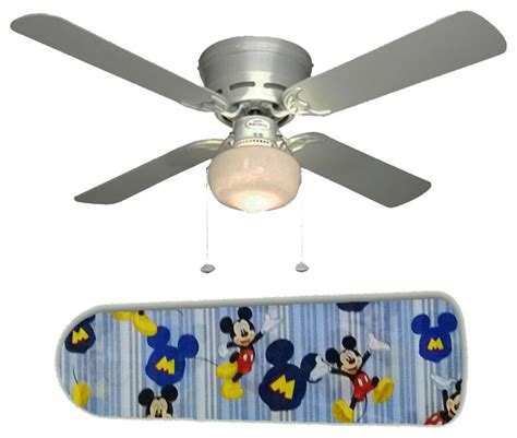 mickey mouse stripes 42 quot ceiling fan and l