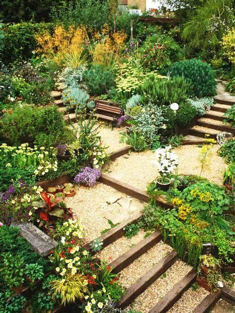 Slope Yard Ideas by 20 Sloped Backyard Design Ideas