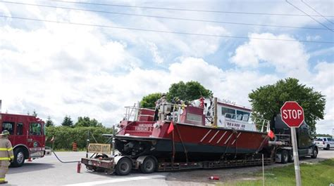 Vancouver Fire Boat 3 by Scugog Firefighters Douse Electrical Blaze In Rescue Boat
