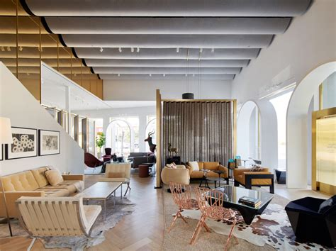 Home Design Store : Knoll Creates A Moroccan-inspired Showroom For Its Home