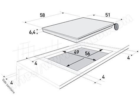 epaisseur plaque induction table de cuisine