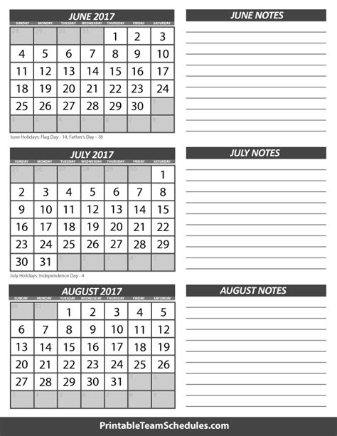 calendar template for june july august 2017 june july august 3 month 2017 calendar print here http