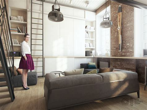 Small Apartment : A Super Small Apartment That Adapts To Its Owner's Needs