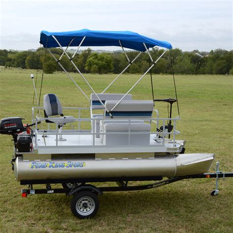 Best Pontoon Boats Under 25 Feet by Add The Bimini Top To Your Pontoon Boat To Shade Yourself