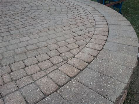 how to build a paver patio insured by