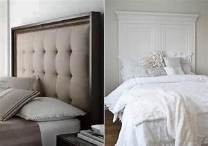 Bett Mit Gepolstertem Kopfteil : 50 schlafzimmer ideen f r bett kopfteil selber machen freshouse ~ Markanthonyermac.com Haus und Dekorationen