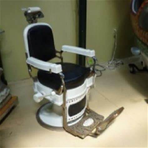 Vintage Barber Chairs Craigslist by Koken Barber Chair As The Barber Pole Turns