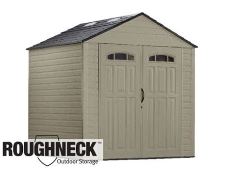 galleon rubbermaid roughneck 7 x7 x large storage shed