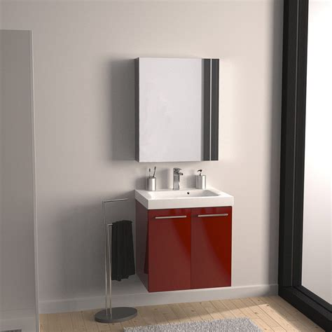 meuble sous vasque l 61 x h 57 7 x p 46 cm sensea remix leroy merlin