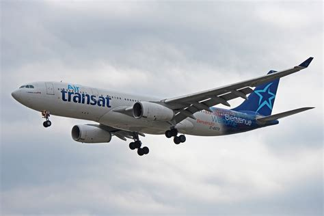 c ggts air transat airbus a330 200 at toronto pearson airport yyz