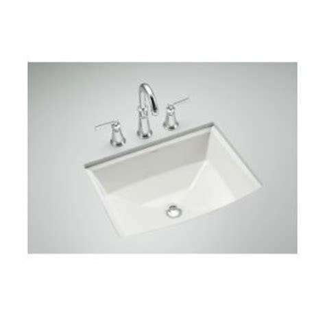 Kohler Memoirs Undermount Sink Template by Kohler K 2355 0 White Archer 17 5 8 Quot Undermount Bathroom