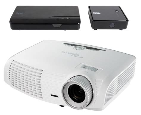 optoma hd25 lv whd 1080p 3d dlp home theater projector bundle with wireless hdmi
