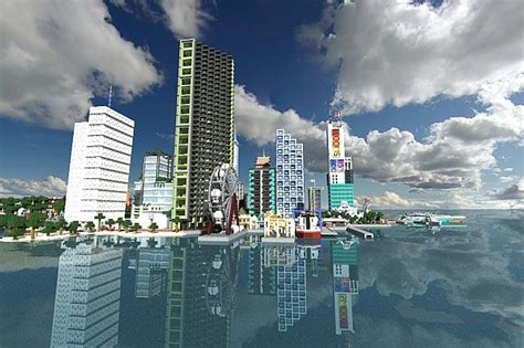 modern city minecraft project