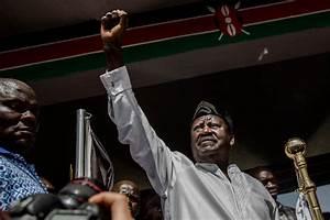 Kenyan opposition leader Raila Odinga 'sworn in' as ...