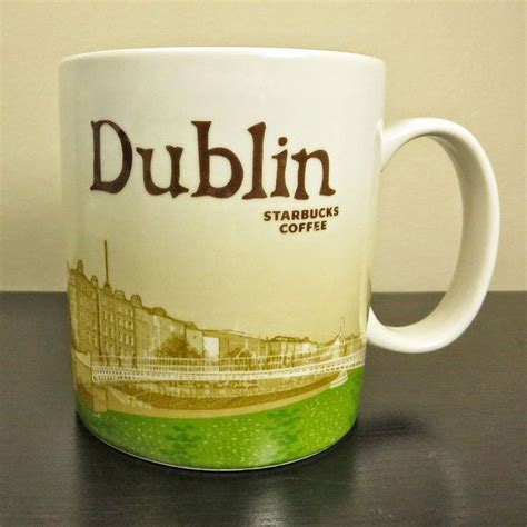 NEW Starbucks   Dublin   Global Icon City 16 oz Mug #Starbucks #ebay   For the Home   Pinterest