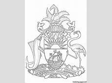Coat Of Arms Coloring Page bellrehwoldtcom