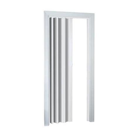 accordion doors home depot spectrum 32 in x 80 in ellington white accordion door