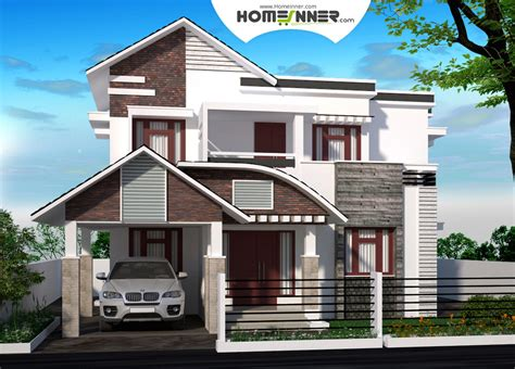 3 Cent Home Design : Attractive 3 Bhk Home Plan In 5 Cent Plot