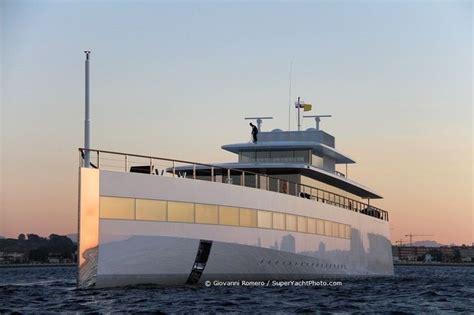 Steve Jobs Boat by Steve Jobs Yacht In Gibraltar Boats Pinterest