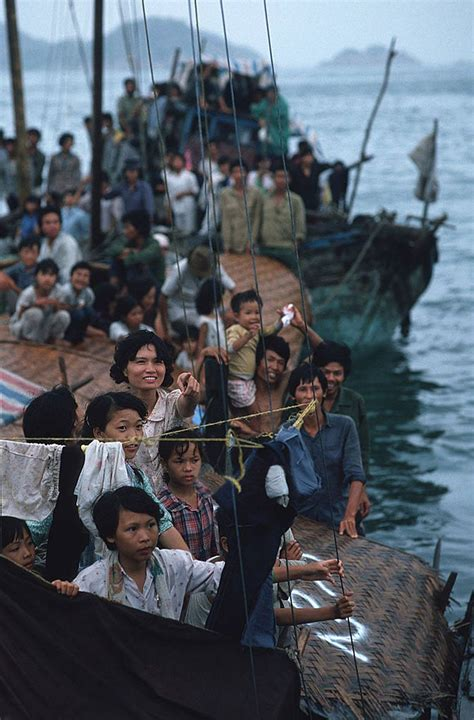 Vietnamese Boat People Hong Kong by 30 Incredible Color Photographs That Capture Brutal Life