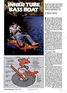 Inner Tube Sailboat by Popular Mechanics Inner Tube Boat Fishing Cing