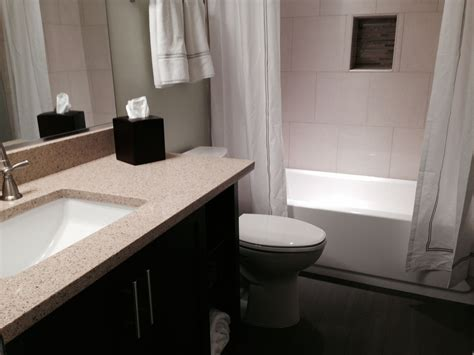 photos of bathroom in finished basement in fairfax va