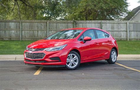 2019 Chevrolet Cruze Owners Manual Lt Rs Msrp