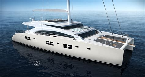 Huge Catamaran Yacht by Luxury Catamaran Sunreef 88dd Launched In Poland Yacht