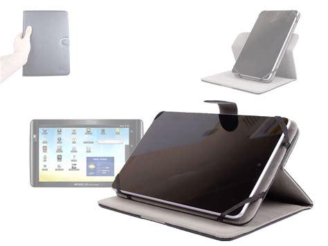 etui rotatif 360 176 effet cuir pour tablette archos 101 xs 10 1 pouces ebay