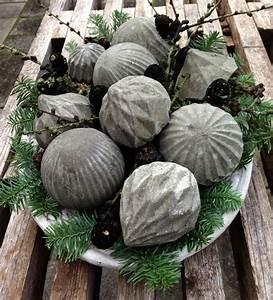 Gießformen Beton Garten : basteln mit beton zu weihnachten freshouse ~ Markanthonyermac.com Haus und Dekorationen