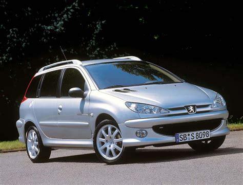 peugeot 206 sw 1 1 60 hp dati tecnici auto potere capacit 224 serbatoio carburante consumo di
