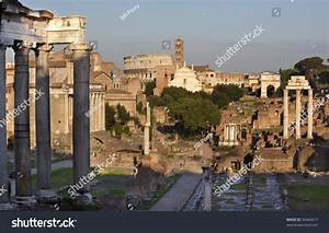 Forum Overview Main Road, Temple Of Saturn, Temple Of ...