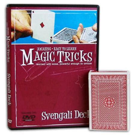 amazing easy to learn magic tricks svengali deck combo magic tricks the leading magic shop uk