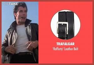 John Travolta Trafalgar 'Rafferty' Leather Belt from ...
