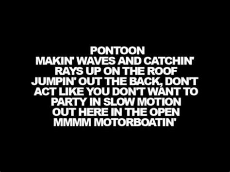 Pontoon Song Youtube by Lyrics Little Big Town Pontoon Youtube