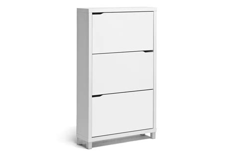 opentip baxton studio simms white modern shoe cabinet