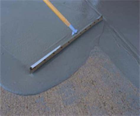 concrete overlay self levelers decorative concrete