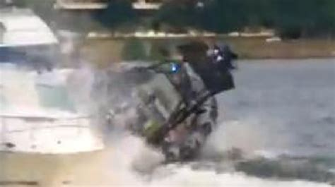Dc Police Boat by Dc Police Boat Crashes Into 2 Others In Georgetown Video