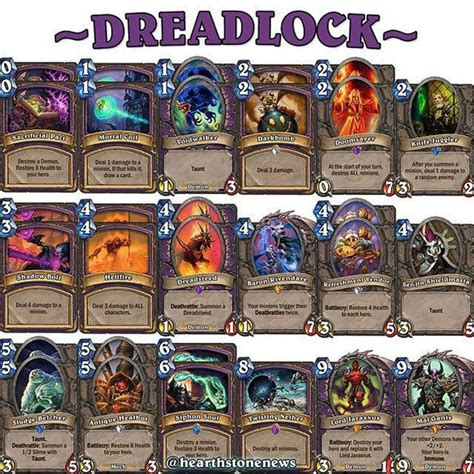 hearthstone deck warlock dreadsteed hearthstone news decks