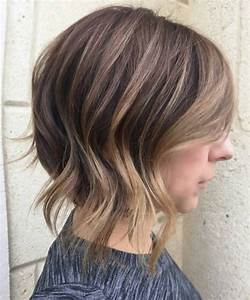 Short Brown Hairstyles With Caramel Highlights - HairStyles