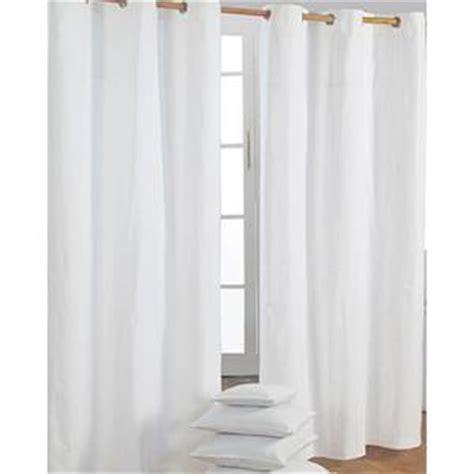 rideaux blancs coton oeillet achat vente rideaux blancs coton oeillet pas cher les soldes