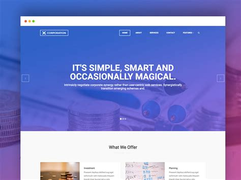 Best Free Bootstrap Html Template