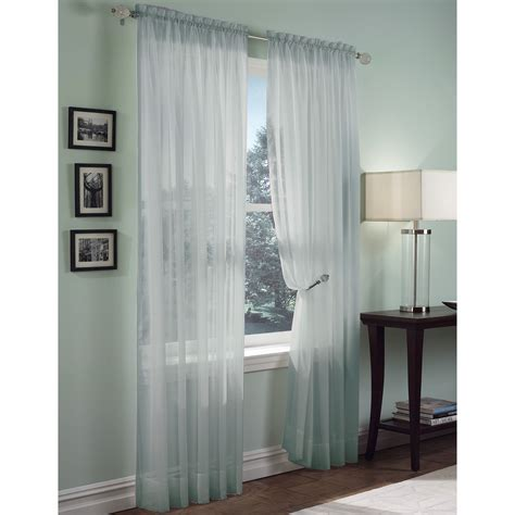 sheer voile panel add sheer elegance to your windows from sears