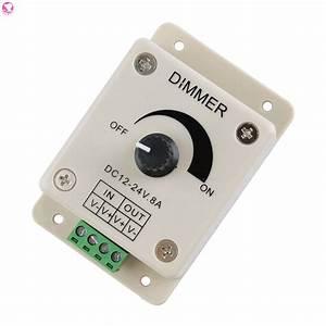 Led Dimmer Anschließen : 12v 8a switch dimmer brightness adjustable controller for dc motor led strip light buy in pakistan ~ Markanthonyermac.com Haus und Dekorationen